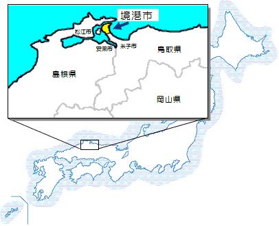 「境港 地図」の画像検索結果